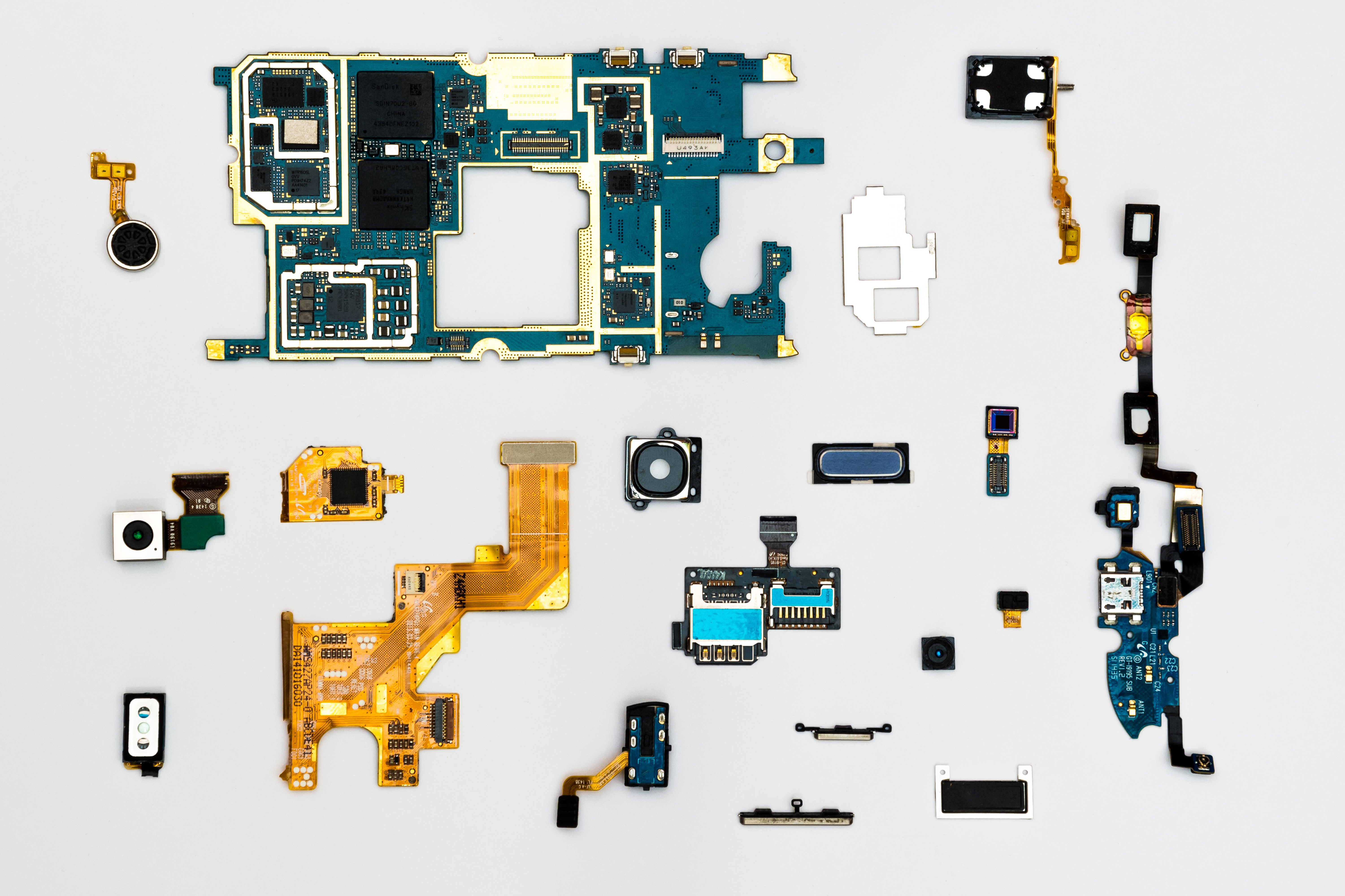 Recycling alter defekter Smartphones